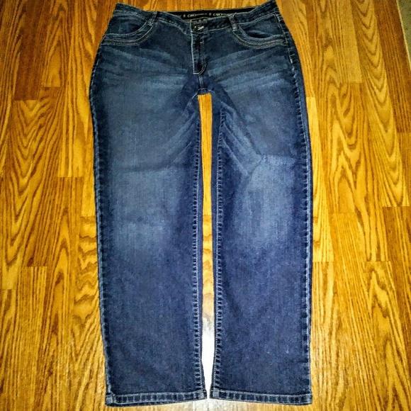 9f881864f1799 Cato Denim - Cato s Jeans Plus Size 16P Size 33 Straight Tummy